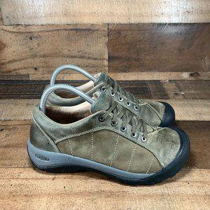Keen Presidio Leather Hiking Walking Shoes Size 8